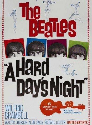 The Beatles: Вечер трудного дня / The Beatles: A Hard Day's Night (1964/HDRip/BDRip/HDRip-AVC/BDRip 720p)