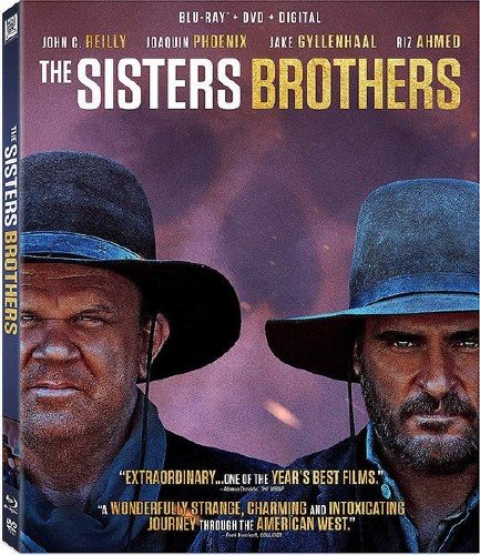 Братья Систерс / The Sisters Brothers (2018) HDRip/BDRip 720p/BDRip 1080p
