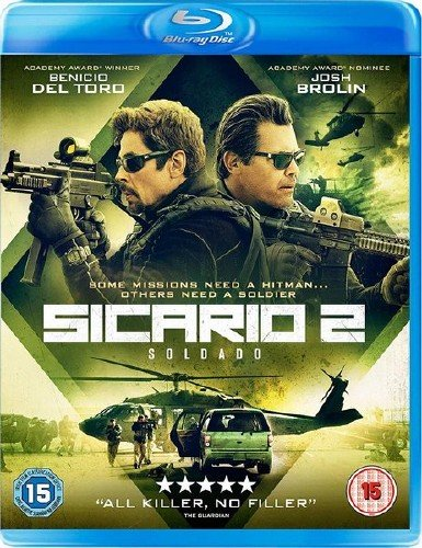 Убийца 2. Против всех / Sicario 2: Day of the Soldado (2018) HDRip/BDRip 720p/BDRip 1080p