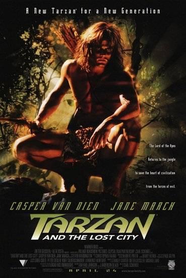 Тарзан и затерянный город / Tarzan and the Lost City (1998) DVDRip
