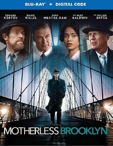 Сиротский Бруклин / Motherless Brooklyn (2019) HDRip/BDRip 720p/BDRip 1080p
